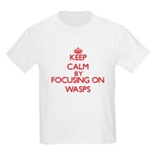 Keep Calm by focusing on Wasps T-Shirt