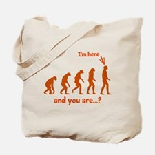 How Evolved? Tote Bag