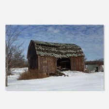 Old Barn 2 Postcards (Package of 8)