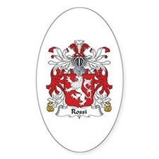Rossi Oval Decal