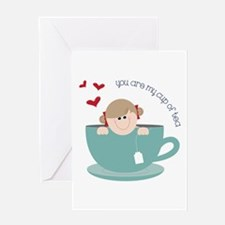 My Cup Of Tea Greeting Cards