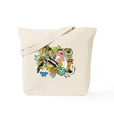 Bird Attack Tote Bag