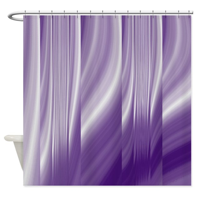 Abstract Purple Grey Shower Curtain By Listing Store 62325139
