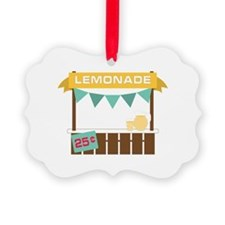 Lemonade Stand Ornament