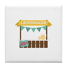 Lemonade Stand Tile Coaster
