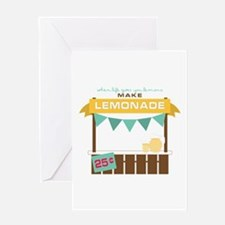 Fresh Lemonade Greeting Cards