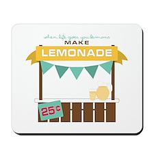 Fresh Lemonade Mousepad