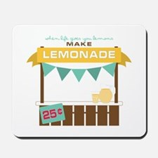 Fresh Lemonade Mousepad