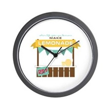 Fresh Lemonade Wall Clock