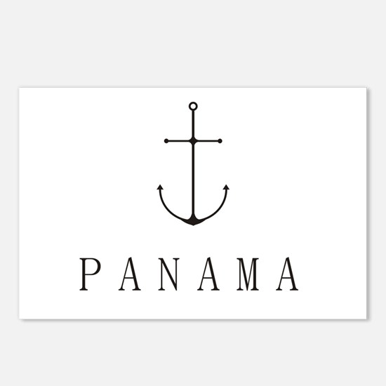 Panama Sailing Anchor Postcards (Package of 8)