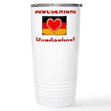 Cute German beer Travel Mug