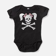 hallow63dark.png Baby Bodysuit