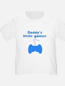 Daddys Little Gamer T-Shirt