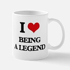I Love Being A Legend Mugs