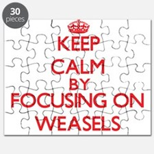 Keep Calm by focusing on Weasels Puzzle