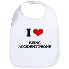 I Love Being Accident Prone Bib