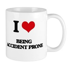 I Love Being Accident Prone Mugs