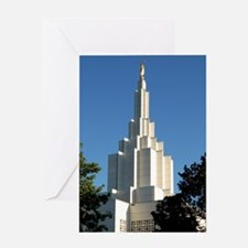 LDS Idaho Falls Temple Greeting Cards