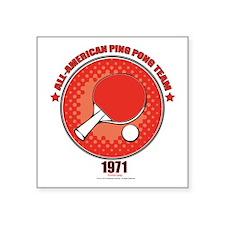 Forrest Gump Ping Pong Sticker