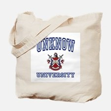 UNKNOW University Tote Bag