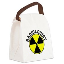 Radiology Profession and Symbol Canvas Lunch Bag