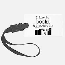I like Big Books Luggage Tag