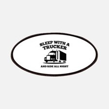 Sleep With A Trucker Patches