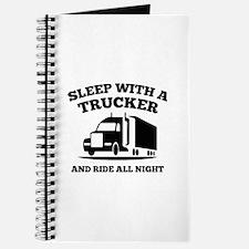 Sleep With A Trucker Journal