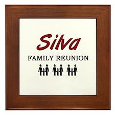 Silva Family Reunion Framed Tile