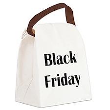 Black Friday Canvas Lunch Bag