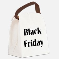 Black Friday Canvas Lunch Bag