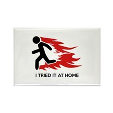 I Tried It At Home Rectangle Magnet (10 pack)