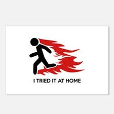 I Tried It At Home Postcards (Package of 8)