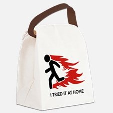I Tried It At Home Canvas Lunch Bag
