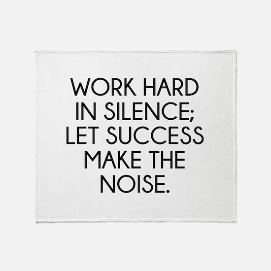Let Succes Make The Noise Stadium Blanket