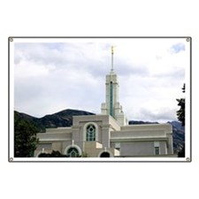 LDS Timpanogos Temple Banner