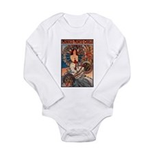 Alphonse Mucha Body Suit