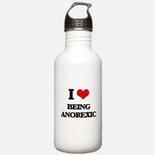 I Love Being Anorexic Water Bottle