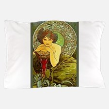 THE EMERALD, 1900.JPG Pillow Case