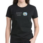 Christmas Goldfish Women's Dark T-Shirt