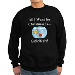 Christmas Goldfish Sweatshirt (dark)