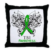 TBI Awareness Throw Pillow