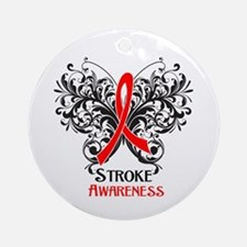 Stroke Disease Awareness Ornament (Round)