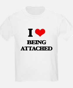 I Love Being Attached T-Shirt