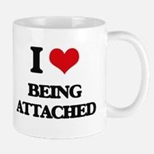 I Love Being Attached Mugs