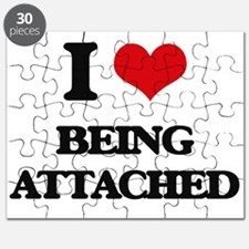 I Love Being Attached Puzzle
