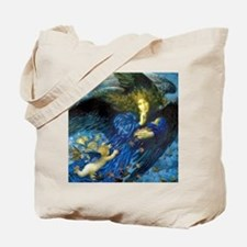 Angel with Putti Tote Bag