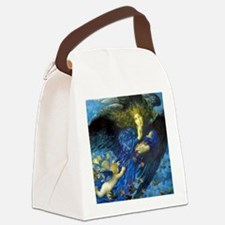 Angel with Putti Canvas Lunch Bag
