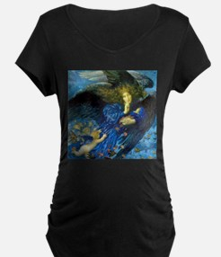 Angel with Putti Maternity T-Shirt