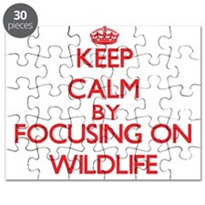 Keep Calm by focusing on Wildlife Puzzle